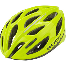 Rudy Project Zumy Casque, yellow fluo shiny